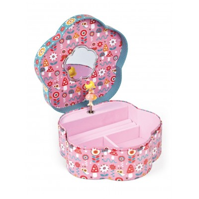 Janod Jewellery Flower Musical Box