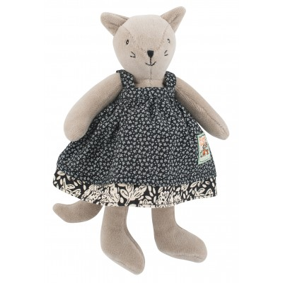 Moulin Roty La Grande Famille Small Agathe the Cat 20cm