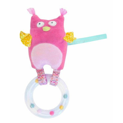 Owl With Rin Rattle