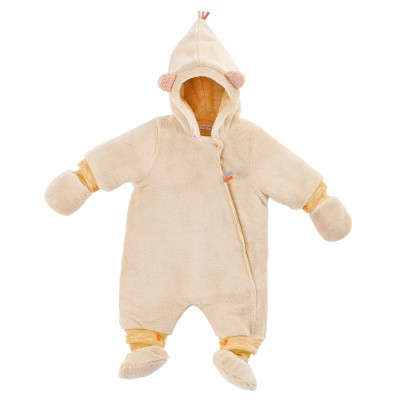 Moulin Roty Les Papoum Baby Full-Body Suit 12months