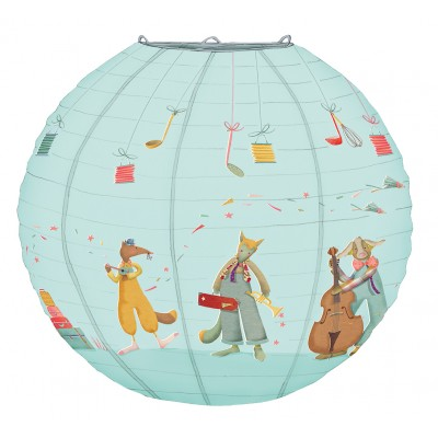 Lamp-Shade - Blue Boy Musicians 40Cm Diameter