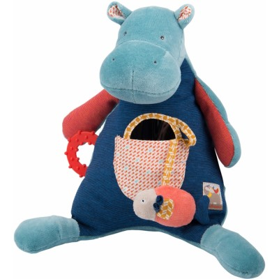 Moulin Roty Les Papoum Activity Hippo 31cm