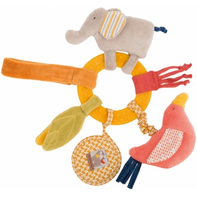 Baby Awakening Elephant Activities Teether Rattle