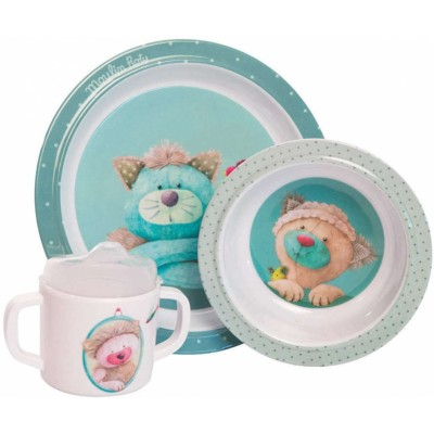 Moulin Roty Les Pachats Baby Dish Set ø22cm
