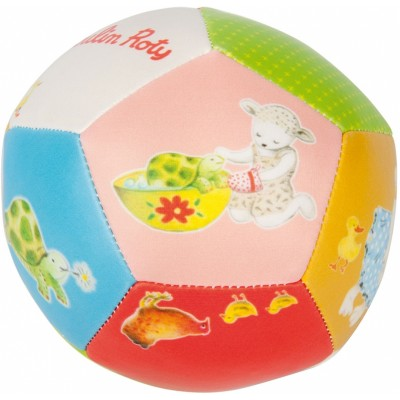 Moulin Roty La Grande Famille Baby Safe Pu Playing Ball 10cm