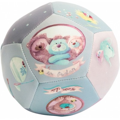 Moulin Roty Les Pachats Safe PU Soft Baby Ball ø10cm