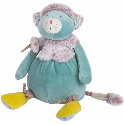 Moulin Roty Les Pachats Blue Cat Doll 33cm