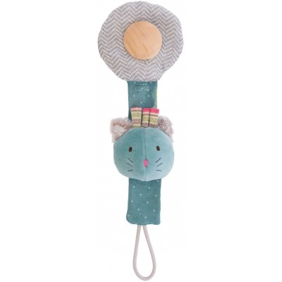 Moulin Roty Les Pachats Cat Soother Chain 27cm