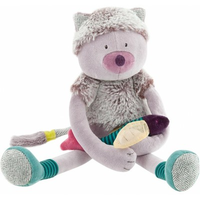 Chamalo Cat Doll In Grey Gift Box