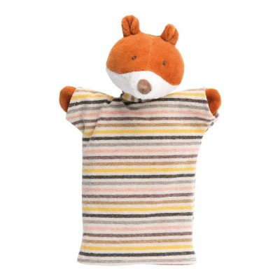 Moulin Roty La Grande Famille Hand Puppet - Gaspard the Fox 25cm