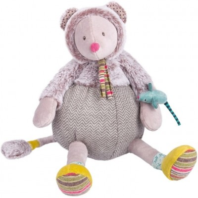Moulin Roty Les Pachats Grey Mouse Doll 34cm