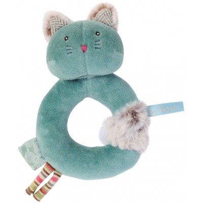 Moulin Roty Les Pachats Rattle-Ring Chacha 9.5x14cm