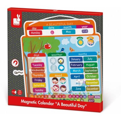 Janod English Magnetibook Calendar