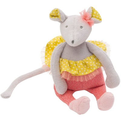 Little Ballerina Mouse Rattle