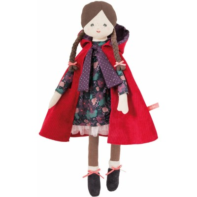 Moulin Roty Il Etait Une Fois Little Red Riding Hood Doll 43cm