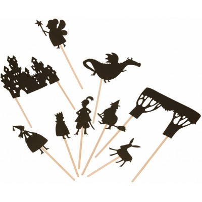Middle Age Fairy Tales Shadow-Puppets