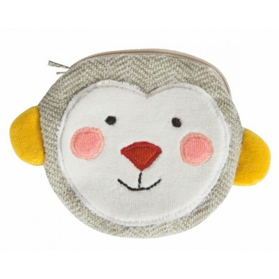 Moulin Roty Les Popipop Monkey Purse 12x9cm