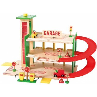 Moulin Roty Dans La Ville Wooden Garage in the City 62x29x38.5cm