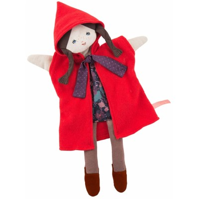 Moulin Roty Il Etait Une Fois Hand Puppet - Little Red Riding Hood 37cm