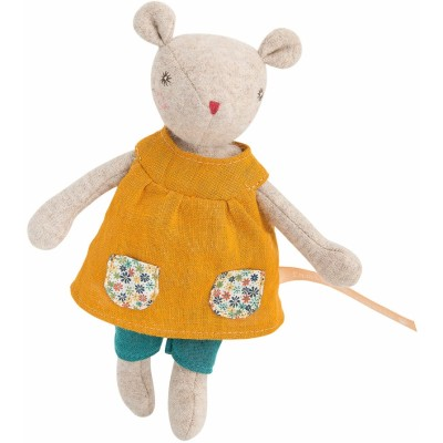 Moulin Roty La Famille Mirabelle Groseille Baby Sister Mouse 19cm