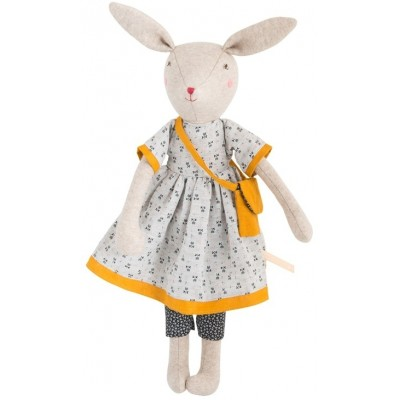 Moulin Roty La Famille Mirabelle Rose the Mummy Rabbit 40cm