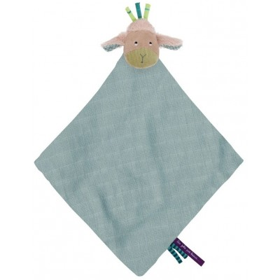 Moulin Roty Les Jolis Pas Beaux Soft Cloth Doudou Sheep 47x47cm