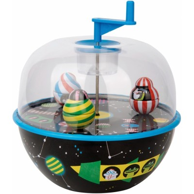 Moulin Roty Les Jouets Metal Musical Globe, Galaxy 14.5x16.5cm