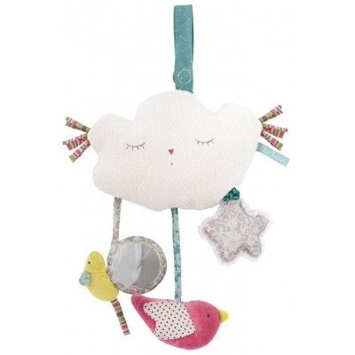 Moulin Roty Les Pachats Activity Toy Musical Cloud 28cm