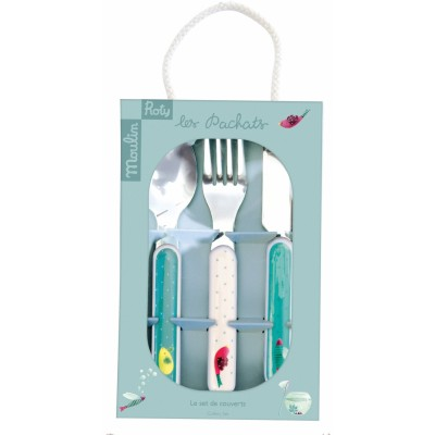 Moulin Roty Les Pachats Cutlery Set 13cm