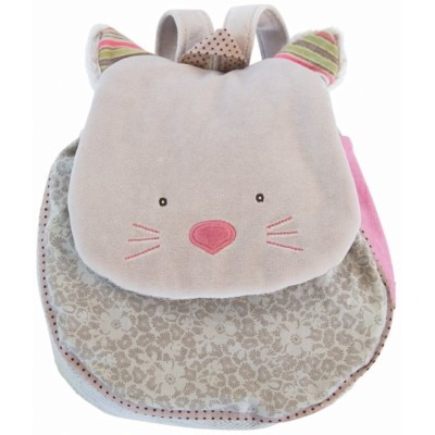 Moulin Roty Les Pachats Grey Chamalo Backpack 29cm