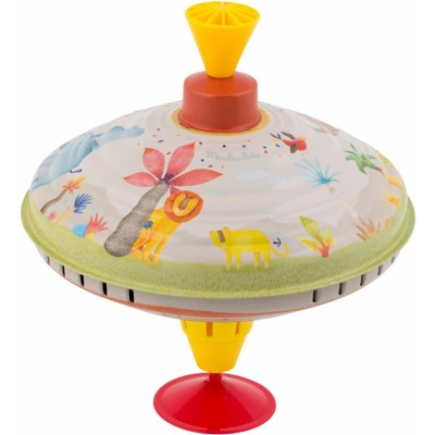 Moulin Roty Les Papoum Large Spinning Top 20x18cm