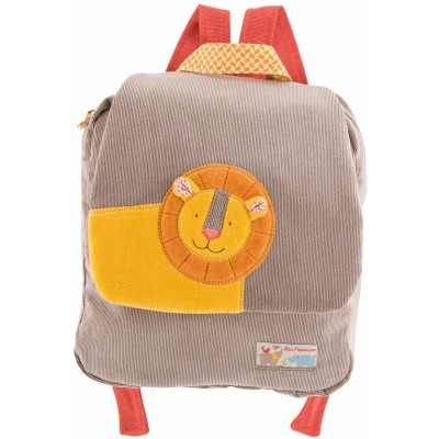 Moulin Roty Les Papoum Lion Backpack 27cm