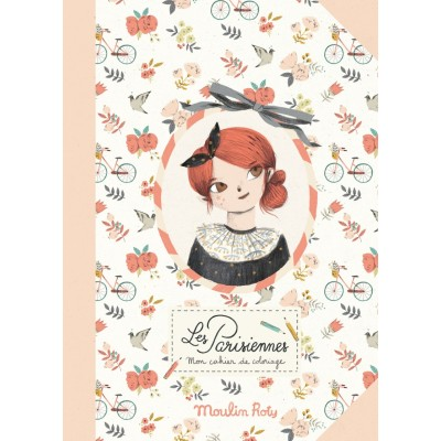 Moulin Roty Les Parisiennes Colouring Book 28x28cm