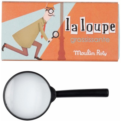 Moulin Roty Les Petites Merveilles Inspector Magnifying Glass (1-Pack)