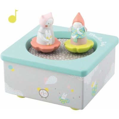 Moulin Roty Les Petits Dodos Musical Box 12x12cm