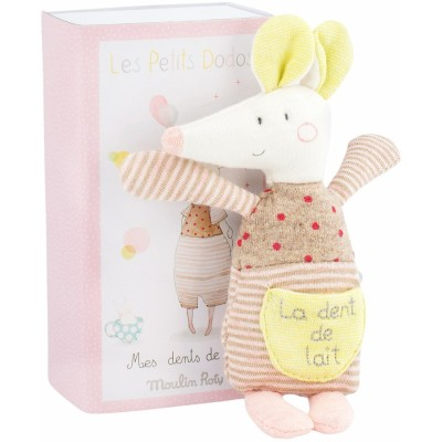 Moulin Roty Les Petits Dodos Tooth Fairy Mouse in a Box 16cm