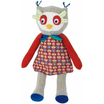 Moulin Roty Les Popipop Small Owl Doll 20cm