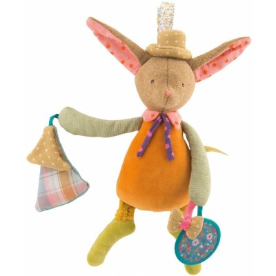Moulin Roty Les Tartempois Activity Rabbit 32cm