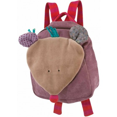 Moulin Roty Les Jolis Pas Beaux Mouse Backpack 20x20cm
