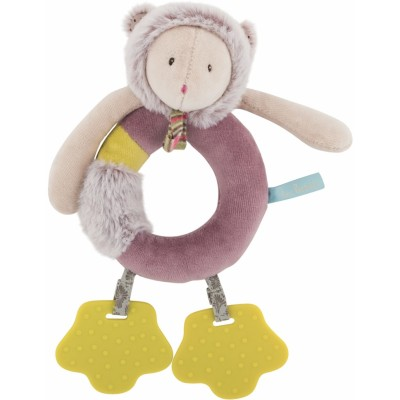 Moulin Roty Les Pachats Mouse Ring Rattle 22cm