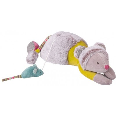 Moulin Roty Les Pachats Musical Cat and Mouse Doll 33cm
