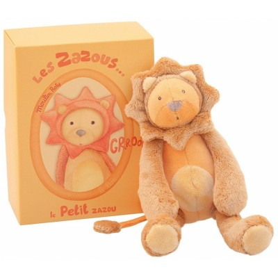 Moulin Roty Les Zazous Little Orange Lion 23cm