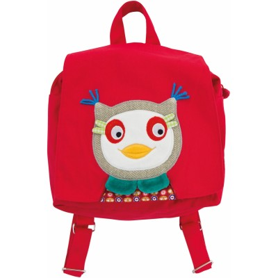 Owl Baby-Safe Cotton Canvas Backpack