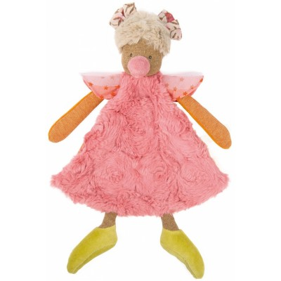 Pink Chick Baby Doudou