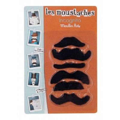 Sets Of 6 Spy Disguise Moustaches