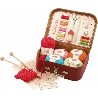 Moulin Roty Les Jouets d'Hier Sewing Kit 25.5x19cm