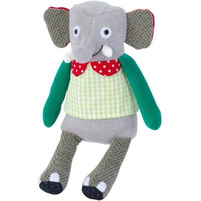 Moulin Roty Les Popipop Small Elephant Doll 19cm