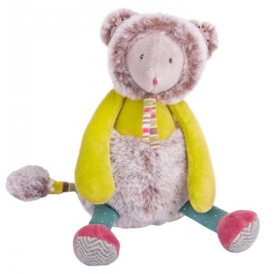 Moulin Roty Les Pachats Tiny Mousey Mouse Doll 21cm