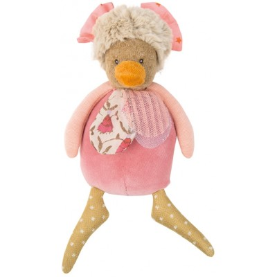 Small Pink Chick Rattle