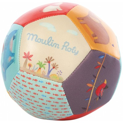 Moulin Roty Les Papoum Safe PU Soft Baby Ball ø10cm